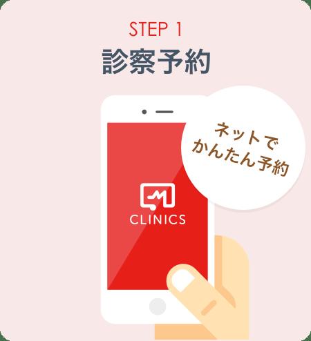 STEP1:診察予約