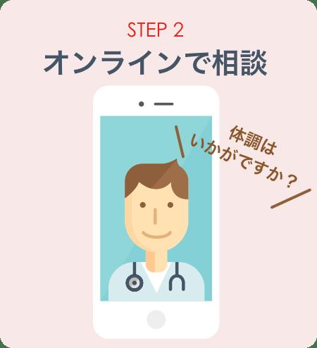 STEP2:オンラインで相談