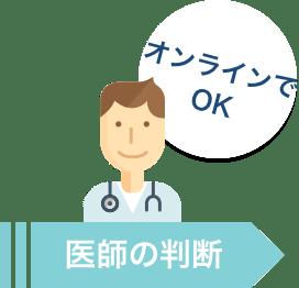 医師の判断